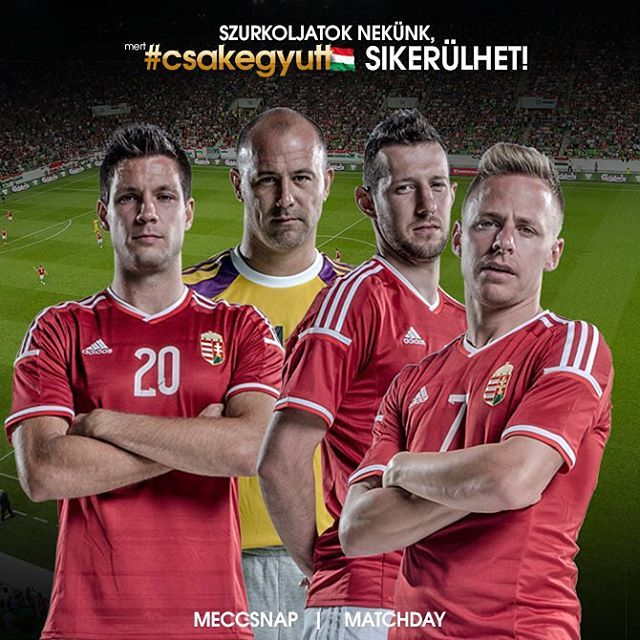 Meccsnap   Matchday #csakegyutt #euro2016 #HUNNOR
