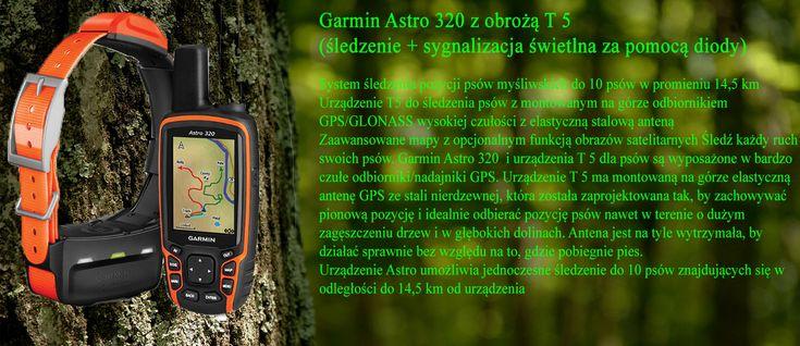 Garmin ASTRO 320 z obrożą T5 www.pologar.pl