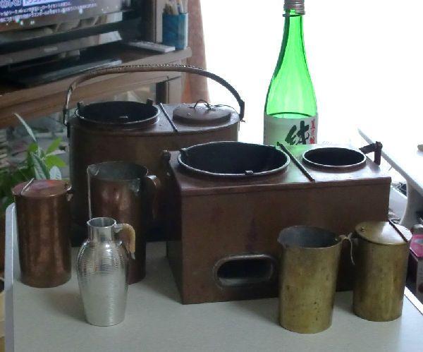 ともさんの焼き物・骨董紀行ー燗銅壺のタイプいろいろ