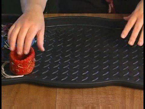 How to Make Felt Bracelets : Felt Cuff Bracelets