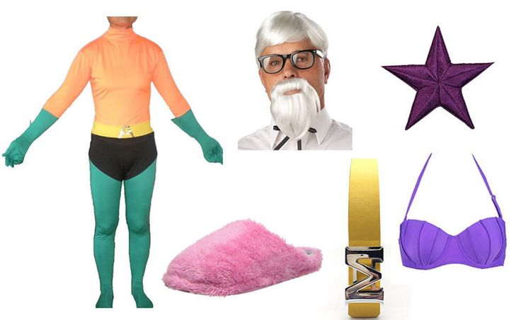 Mermaid Man Costume from Spongebob Squarepants