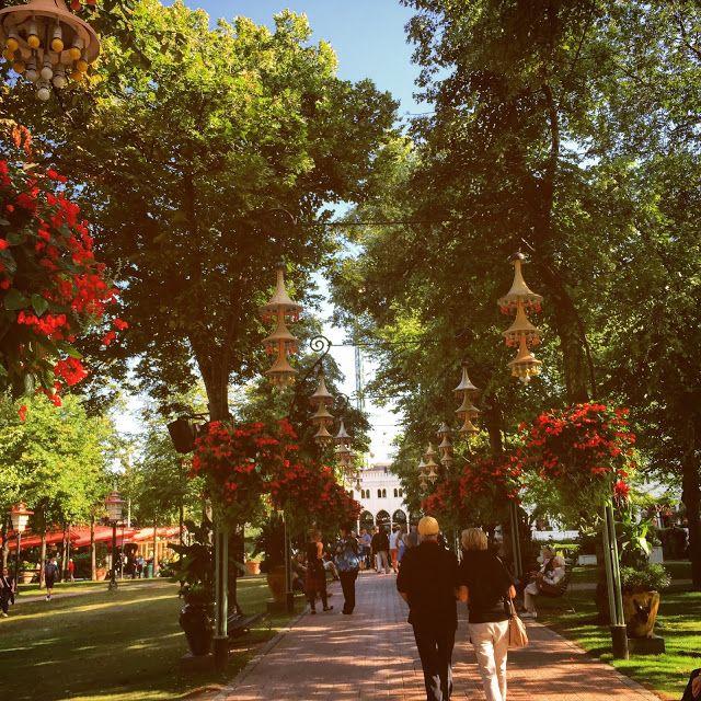 Tivoli Gardens, Copenhagen, Denmark. a must-see!