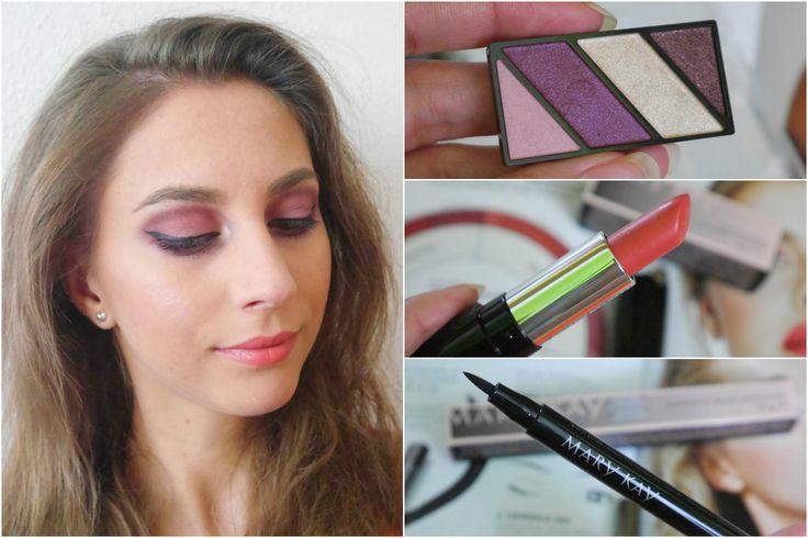 Letné líčenie s dekoratívnou kozmetikou Mary Kay (summer makeup) - KAMzaKRÁSOU.sk