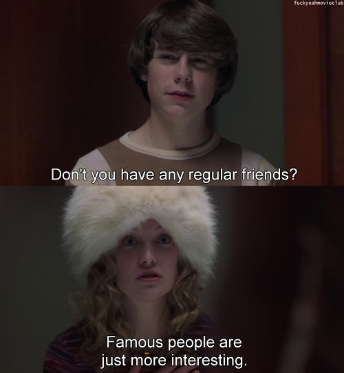 almost famous movie analysis Almost famous - set in 1973, it chronicles the funny and often poignant coming of age of 15-year-old william, an unabashed music fan who is inspired.