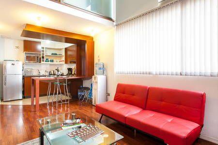 Échale un vistazo a este increíble alojamiento de Airbnb: Loft Bellas Art Downtown Lastarrias - Lofts en alquiler en Santiago