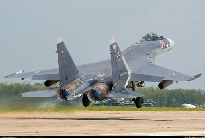 Su-35  Russian Air Force