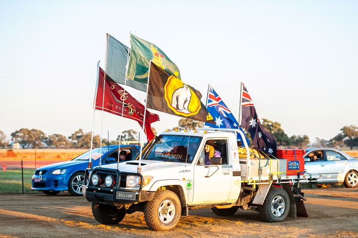 Opening Ceremony at the 2014 Deni Ute Muster.