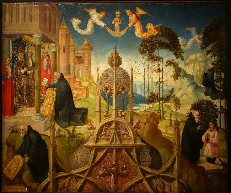 fourth quarter of XV century. Anonymous (Bruxelles).Vie de saint Gilles.Palais des Beaux-Arts de Lille.