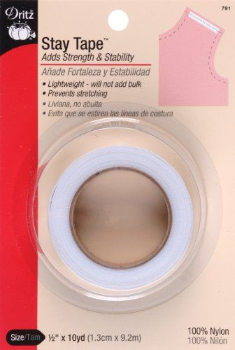 Dritz 791 1/2-Inch by 10-Yard Stay Tape Dritz