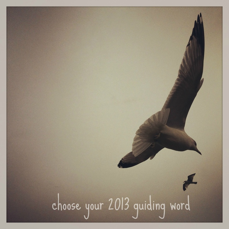mamascout: choose your 2013 guiding word