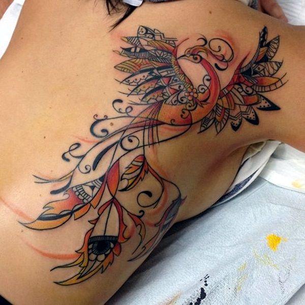 New Phoenix Tattoo Designs For 2016 (35)