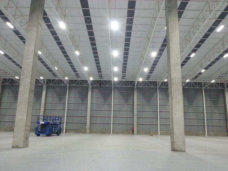NEXUS High Bay: Bodegas Carozzi en Megacentro Conepción. Iluminación industrial a otro nivel. LED