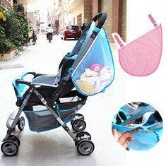 #Banggood Дети детская коляска коляски игрушки пеленки чистая хранения сетки сторона сумки (963377) #SuperDeals