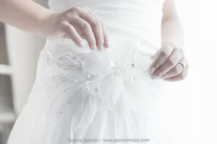 detalles de vestido de novia