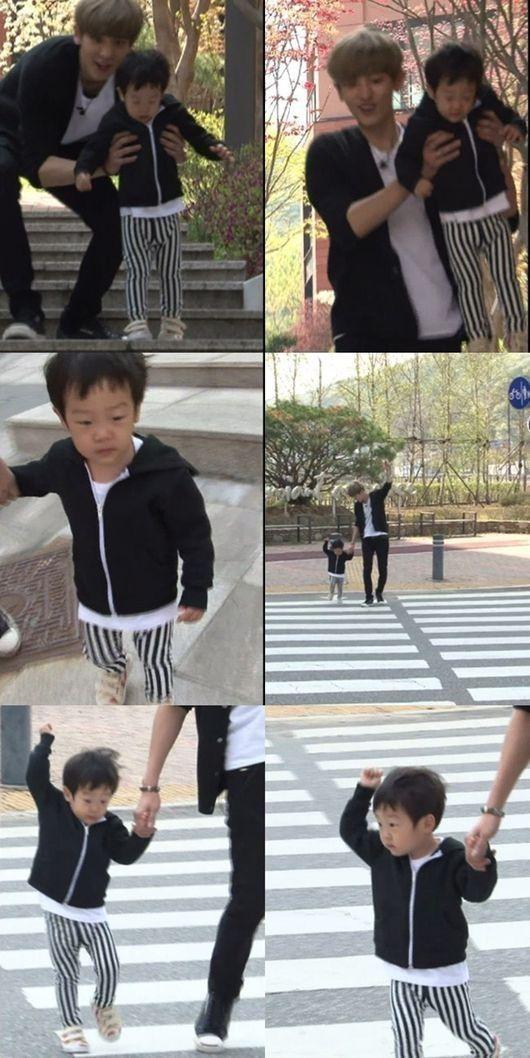 Chanyeol on Return of Superman #EXO