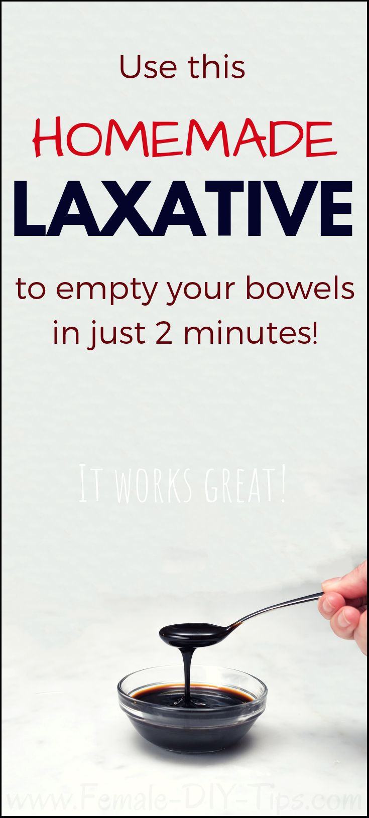 Empty your bowels in just 2 minutes with this homemade laxative. – Fitness Tips 4 Women
