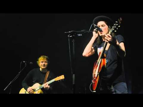James Bay x Ed Sheeran - Let It Go (Cambridge Corn Exchange) - YouTube