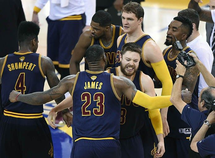 Why Cavaliers are Title Favorite in 2016 - Today's Fastbreak  The upcoming NBA season will be one for the record books. The league is brimming with talent and is in a great place with all the new TV money coming in. Despite the bevy of talent in the league, one team stands out as a front-runner for title favorite.....