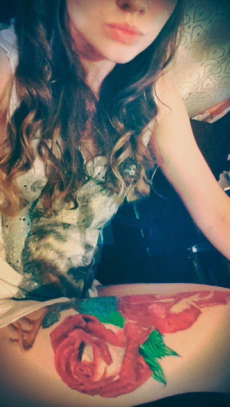 #tattoo #girs #roses