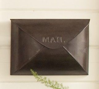 Antique Envelope Mailbox (from Pottery Barn)