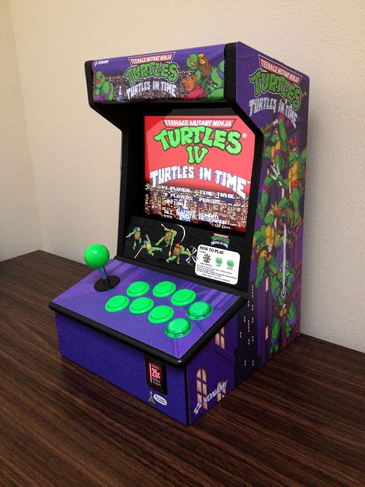 Cowabunga It S Done Turtles Arcade Custom Icade For