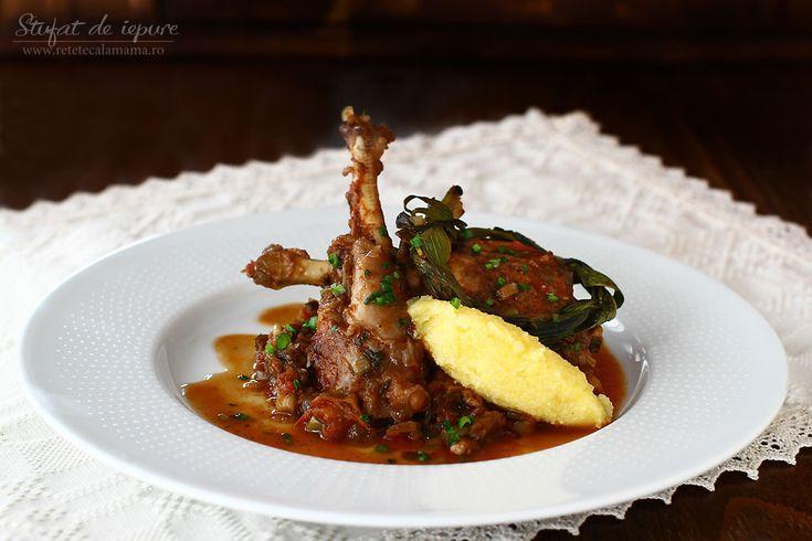 Stufat de iepure - Stufat de iepure, rețetă culinară cu poze. Cum se face un stufat – de miel sau – de iepure trațional. Mâncare de primăvară, stufat de ....
