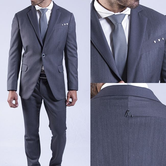 El color gris podemos verlo a menudo en los trajes pues combina muy bien con casi todos los colores, a diferencia del negro, el color gris combina muy bien con los grises de distintos tonos. Ademas es elegante a la par de discreto. En función del tono del color gris puede hacernos más o menos delgados. #FashionMan #FashionDesigner #Man #Style