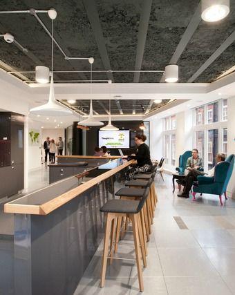 25 best ideas about workplace design on pinterest for Award winning interior design websites