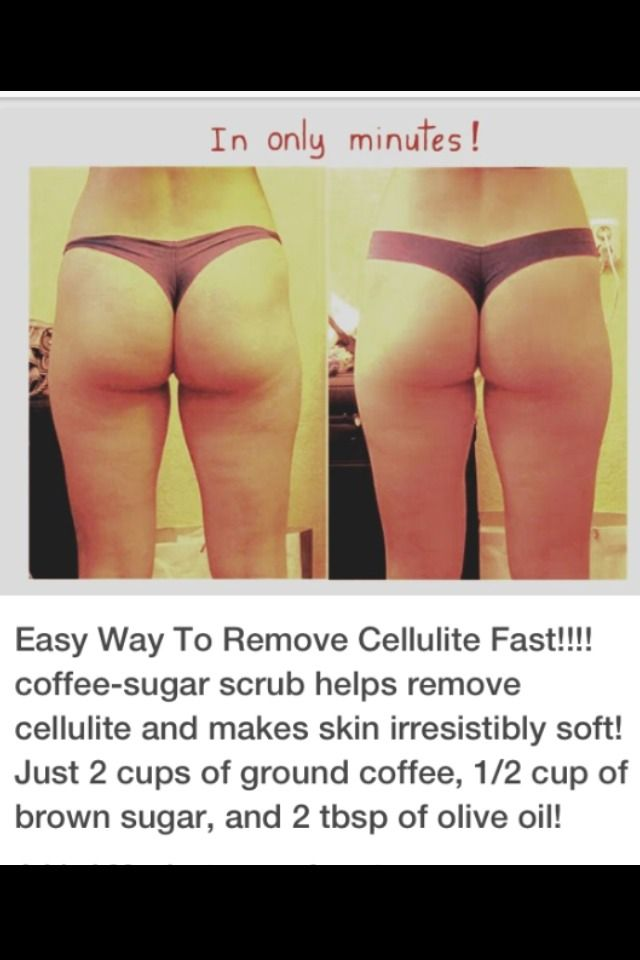 At Home Cellulite Scrub #Beauty #Trusper #Tip