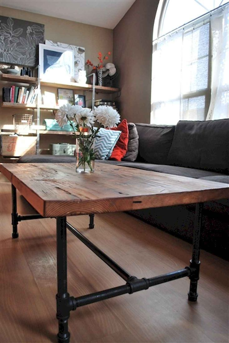 90 Rustic Farmhouse Coffee Table Ideas (With images ...