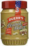 DUERR'S Beurre de Cacahuète avec Morceaux 340 g - Lot de 2