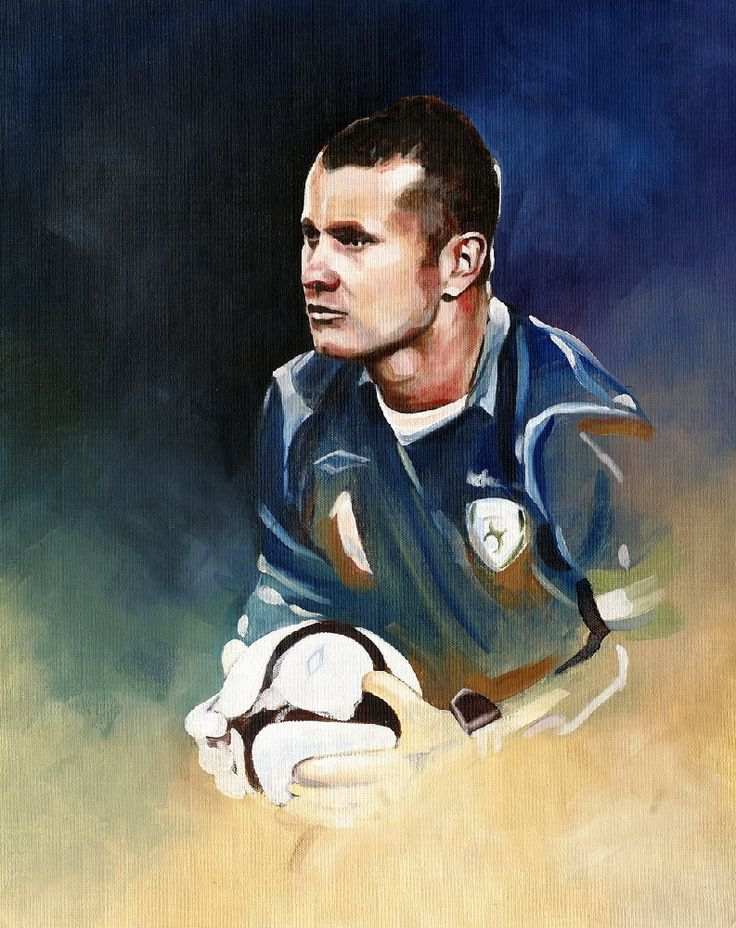 Shay by Neil O'Dwyer on ArtClick.ie Ireland Soccer Art - Shay Given