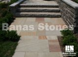 Banas Bronte Square Cut Flagstone / Pavers. It's available at Lanes Landscaping 3500 Mavis Rd, Mississauga, ON L5C 1T8