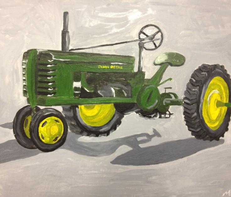 Jd Tractor Paint : Images about tractors on pinterest john deere