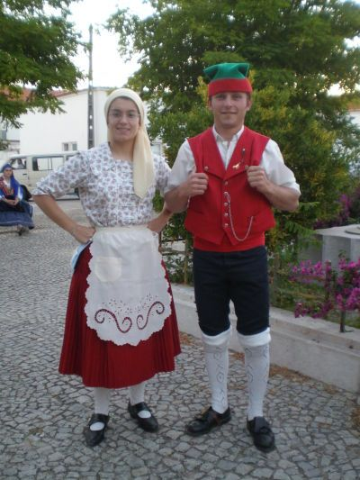 A simpler folkloric costume from Southern Portugal