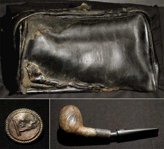 titanic artifacts photos | Titanic artifacts linked to bridge officer William Murdoch to be ...