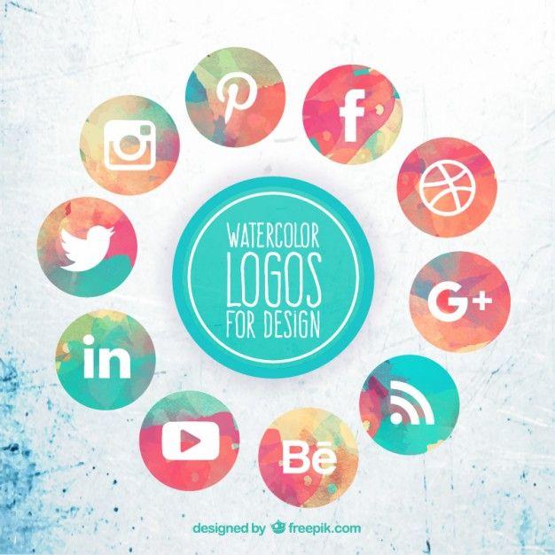 vectores redes sociales