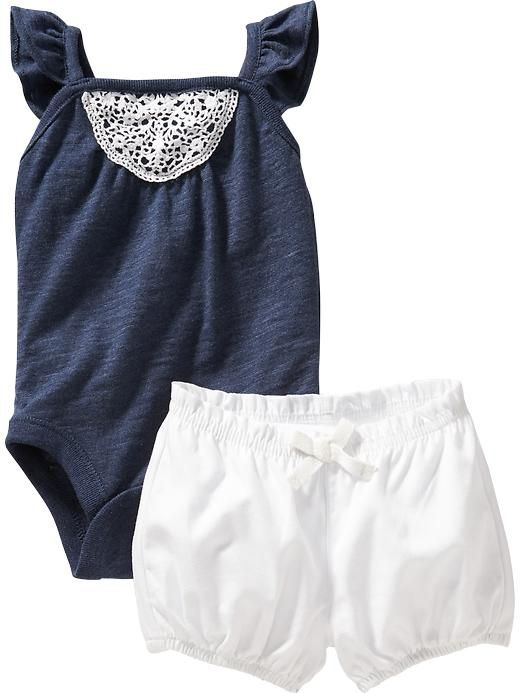 Bodysuit and Bloomer Sets for Baby Product Image