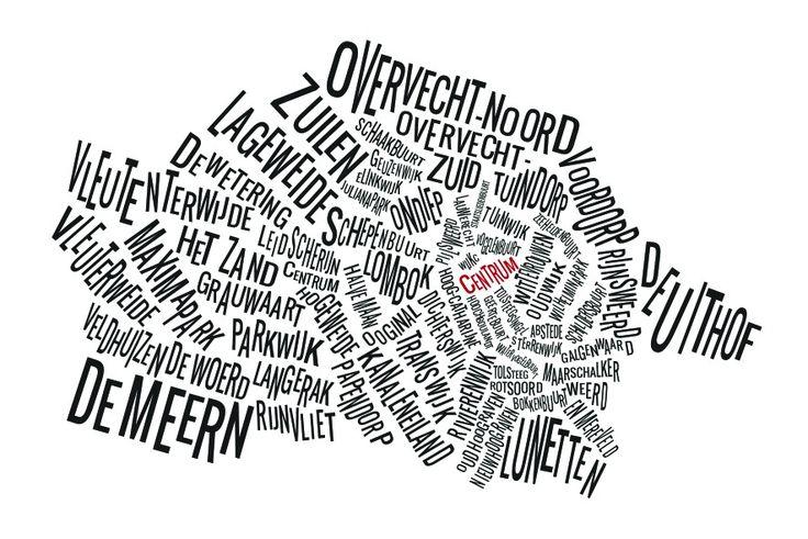 Utrechtse wijken in tekst