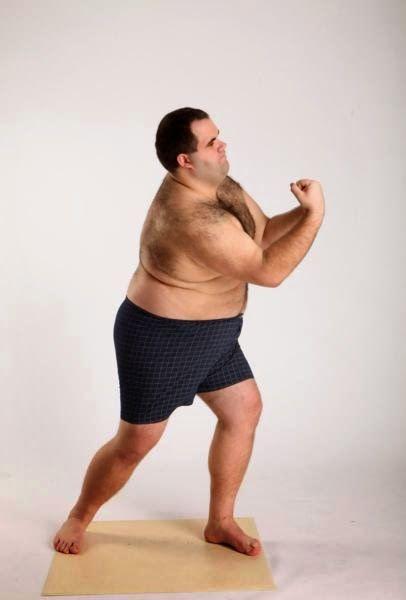 3D human referenses: Robert Underwear Punching