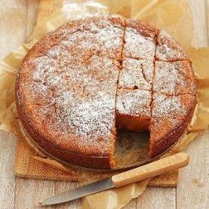 Νηστίσιμο κέικ καρότου