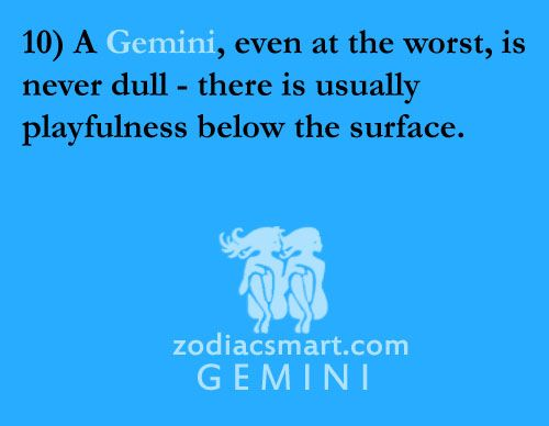Gemini traits