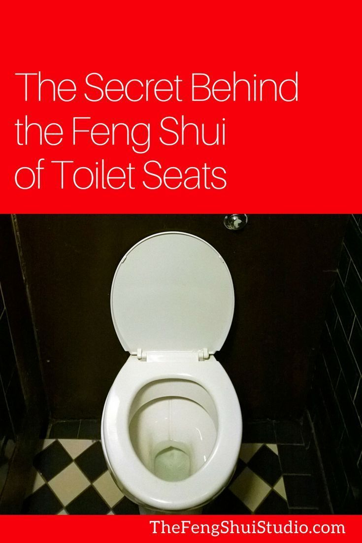 The Secret Behind The Feng Shui Tip To Keep Your Toilet Seat Down