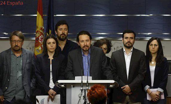 Iglesias, Montero y Podemos: los rostros de los supervivientes de Podemos tras Vistalegre II