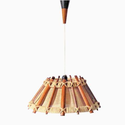 Cool Skandinavisch H ngelampe aus Holz u Seil er Jetzt bestellen unter https moebel ladendirekt de lampen deckenleuchten deckenlampen uid udfcbb