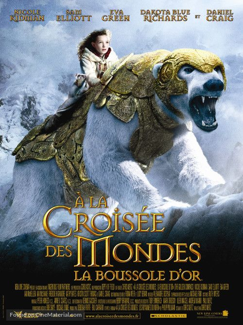 The Golden Compass A Lq Croisee Des Mondes La Boussole D Or 2007 French Movie Poster The Golden Compass Animated Movies Full Movies Online Free