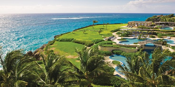 The Crane has quintessential Caribbean Sea views from the pools and well-manicured grounds. #Jetsetter