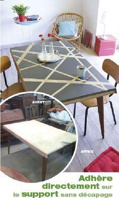 Les 25 meilleures id es concernant repeindre un meuble - Peinture pour bois vernis sans decapage ...