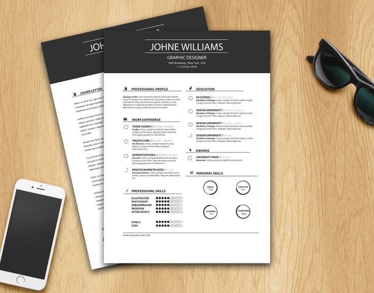 15 best Resume Template \/ CV Template \/ Buy now resume template - resumes that sell you