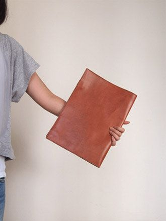 Document Folder/ Case A4 / Letter Leather Harlex Hand by harlex
